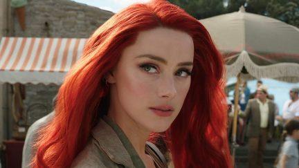 Amber Heard as Mera in 'Aquaman'