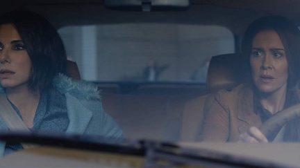 Sandra Bullock and Sarah Paulson star in Bird Box on Netflix