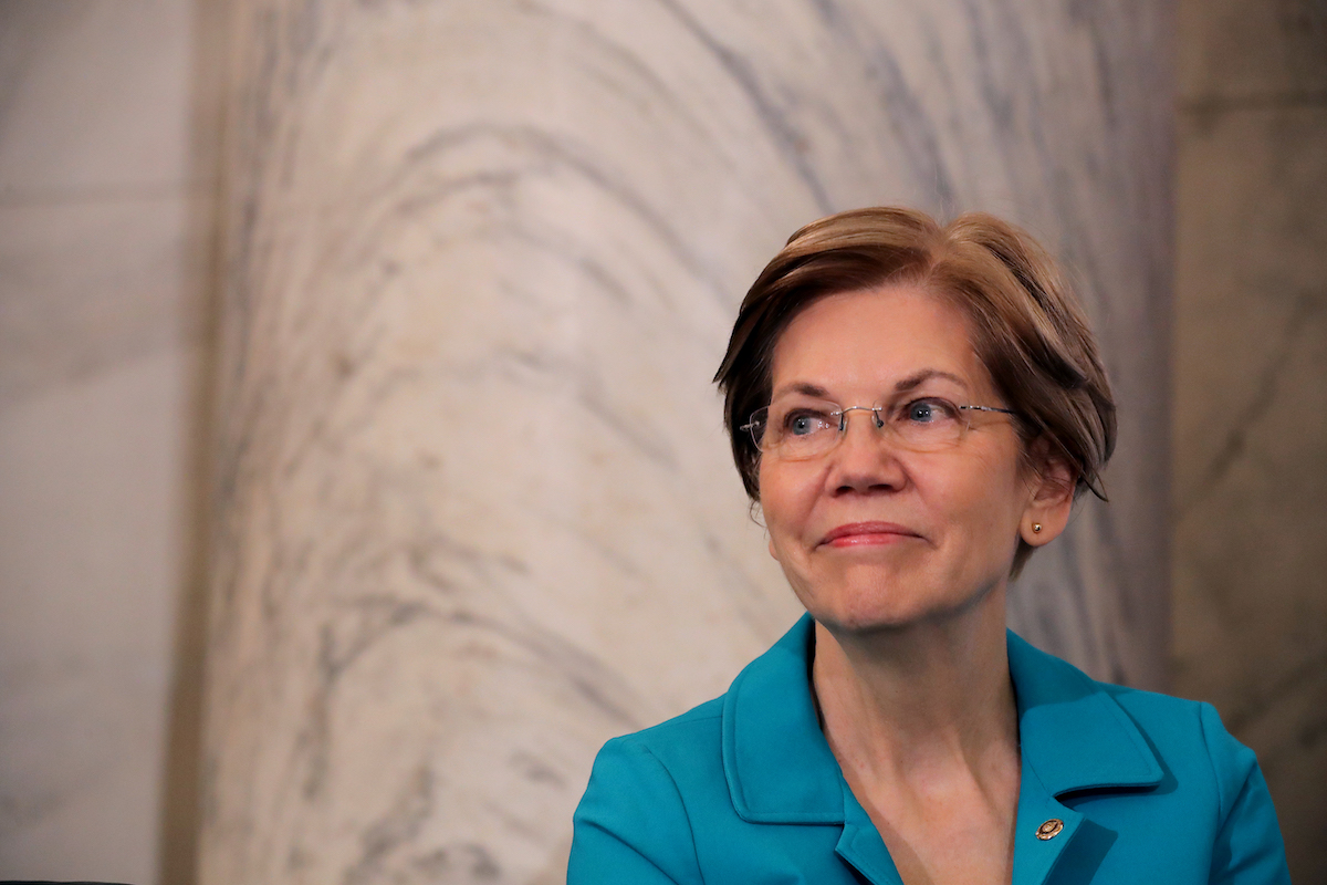 Things We Saw Today: Elizabeth Warren Proves an Important Point About Fake News on Facebook