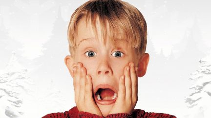 Macauley Culkin stars as Kevin McCallister in Home Alone