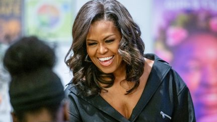 Michelle Obama, becoming, lean in, sandberg, shit, swear, brooklyn, book, tour
