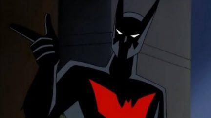 The new Batman in Batman Beyond.