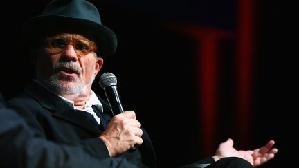 David Mamet meets the audience during the 11th Rome Film Festival at Auditorium Parco Della Musica on October 18, 2016 in Rome, Italy.
