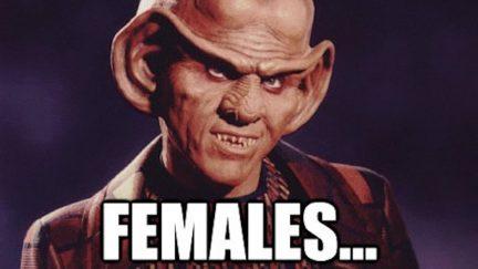 Ferengi females meme