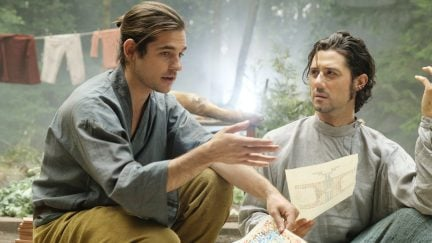 Quentin and Eliot in The Magicians