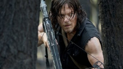 Norman Reedus as Daryl Dixon on The Walking Dead