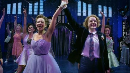 The Prom broadway big number sequence