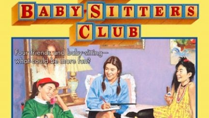 The book cover for The Baby-Sitters Club: Kristy's Great Idea.