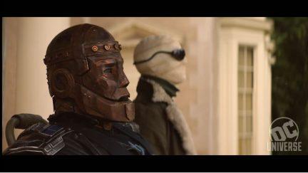 Robotman/Brendan Fraser and Negative Man/Matt Bomer in Doom Patrol trailer