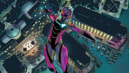 ironheart issue # 3 cover art from marvel comics