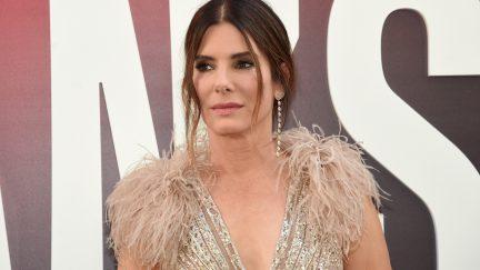 Sandra Bullock attends the