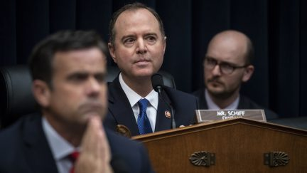 House Select Committee on Intelligence Chairman Adam Schiff (D-CA) holds a hearing concerning 2016 Russian interference tactics in the U.S. elections, in the Rayburn House Office Building