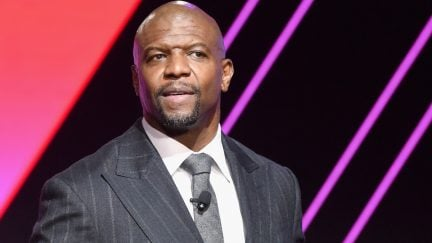 Terry Crews speaks onstage during The 2019 MAKERS Conference