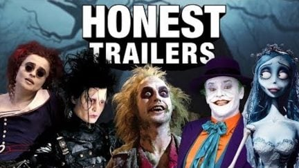 Tim Burton honest trailer