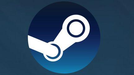Logo for Steam