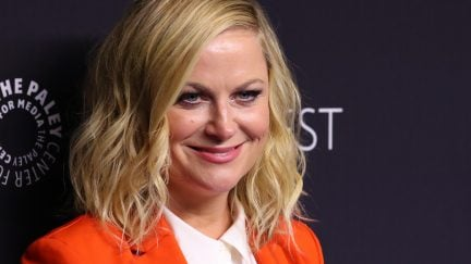 Amy Poehler is doing all the things.