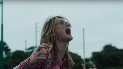 Laura Dern screaming in Big Little Lies.