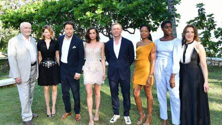 The cast of Bond 25
