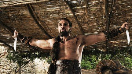 Jason Momoa Khal Drogo the Dothraki