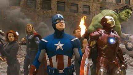 Avengers 2012 assemble