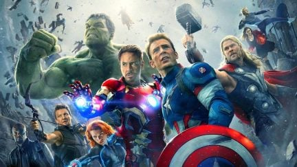 Avengers: Age of Ultron and Captain America romances in Endgame