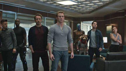 the gang is all here for avengers: endgame.