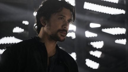 Bob Morley as Bellamy in The CW's The 100.
