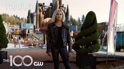 The 100 season 6 trailer still.