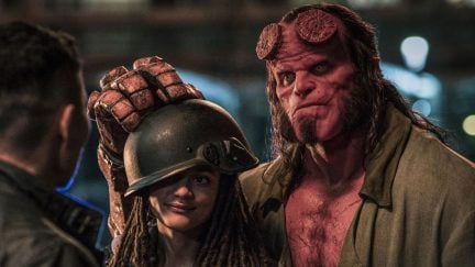 Hellboy starring David Harbour