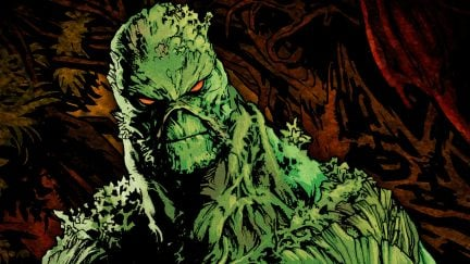Swamp Thing as he appears in the DC comics.