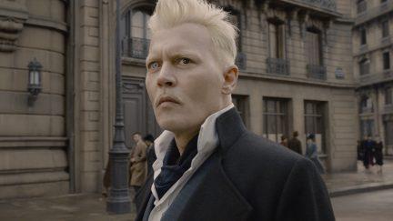 Warner Bros. allegedly worried about Johnny Depp in Fantastic Beasts