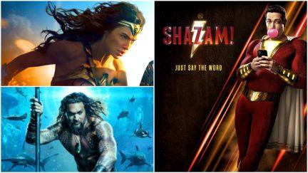 Wonder Woman, Aquaman, and Shazam might re-shape the DCEU.