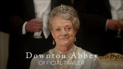 Downtown Abbey Maggie Smith is Robert Crawley's mother Violet, Dowager Countess of Grantham a vampire