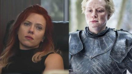 Natasha Romanoff and Brienne of Tarth