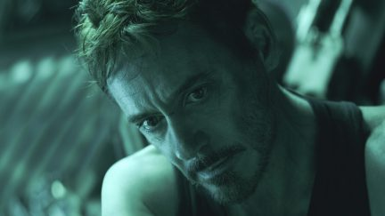 Tony Stark (Robert Downey Jr.) copes with some massive losses in Avengers: Endgame.