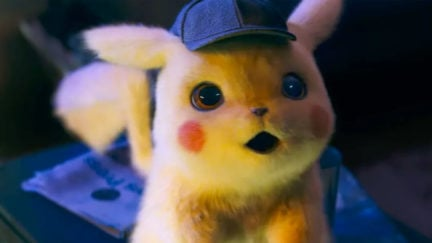 Pikachu is the cutest detective ever in Detective Pikachu.