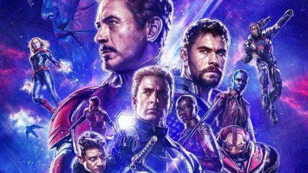 The Avengers assemble on a poster for Marvel's Avengers: Endgame.
