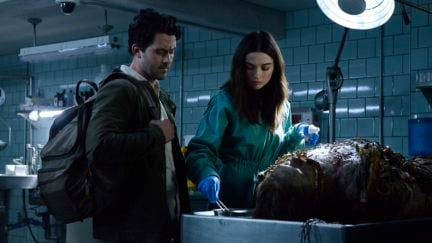 andy bean and crystal reed in swamp thing.