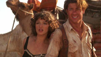 The Mummy (1999) starring Brendan Fraser and Rachel Weisz