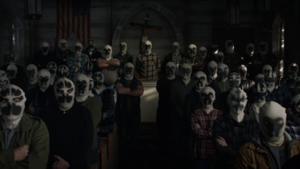 A cult dedicated to Rorschach menaces the country in the new teaser for Watchmen.