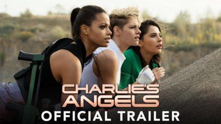 Kristen Stewart, Naomi Scott, and Ella Balinska