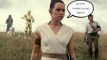 Rey in Star Wars