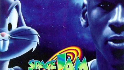 Bug Bunny and Michael Jordan in Space Jam (1996)