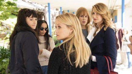 Nicole Kidman, Laura Dern, Reese Witherspoon, Shailene Woodley, and Zoë Kravitz in Big Little Lies (2017)