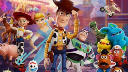 Woody and his pals go to one last round-up in Toy Story 4.