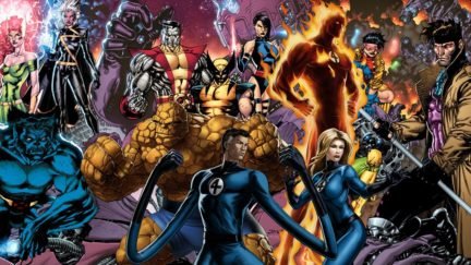 x-men and fantastic four crossover film that could have been.
