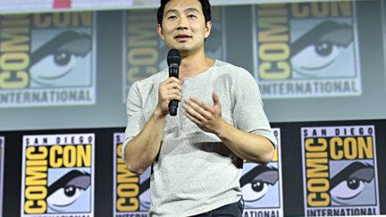 Simu Liu at San Diego Comic Con