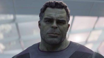 Bruce Banner as Professor Hulk in Endgame