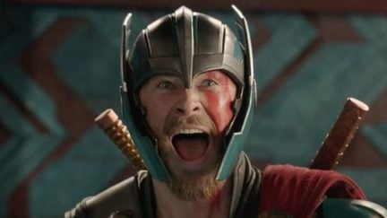 we share hemsworth's excitement about Thor 4