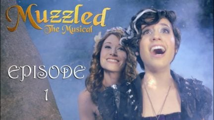 Muzzled the Musical episode one cover.
